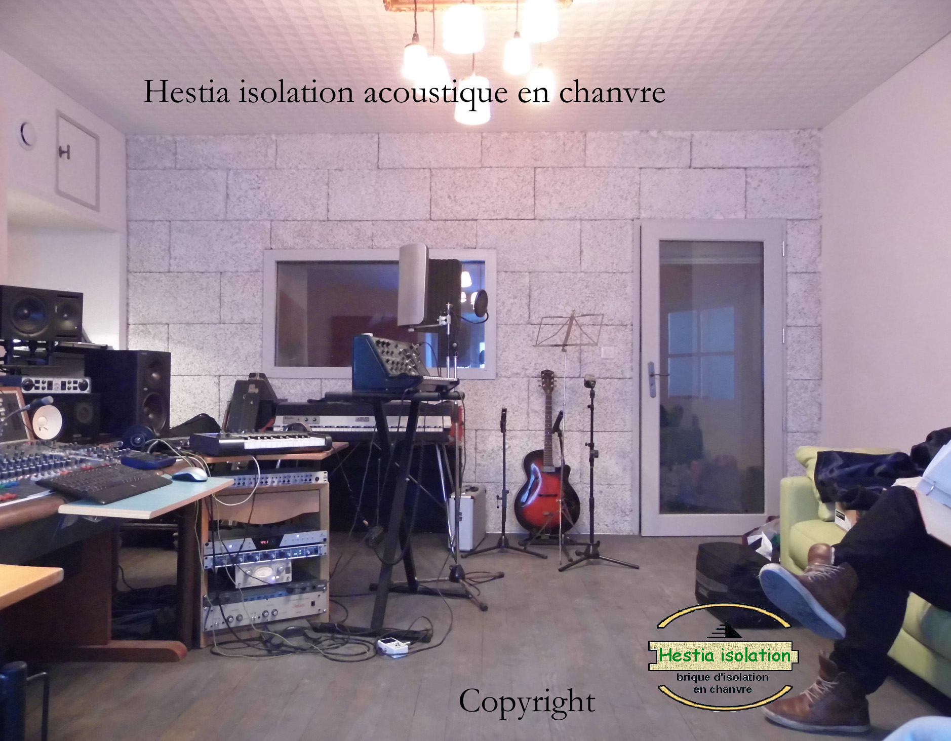 hestia isolation Hestia acoustic treatment sound insulation hemp brick block panels tiles panel tile best recording studio absorption musical musical room concert rehearsal drums sax piano guitar hemp home theater rectification noise interior exterior quality lime